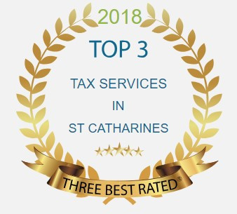 Top 3 Tax Services in St. Catharines Award