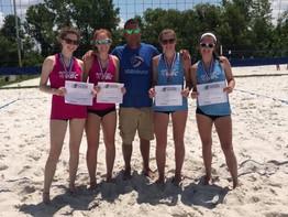 BSVBC Hits Manhattan Beach-Teams get National Bids!