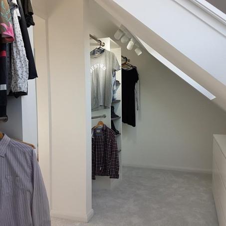 Loft extension, turns 3 bedroom into 4 bedroom home