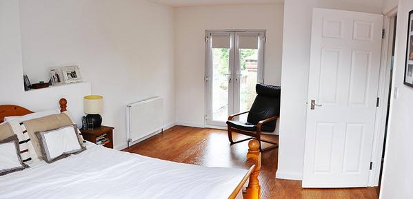Bedroom in Extension
