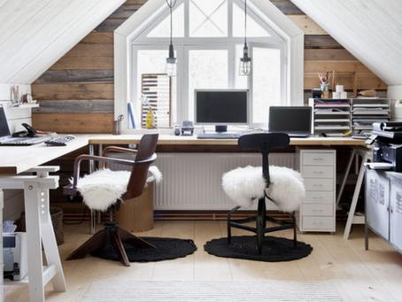 Turning your loft into a home office