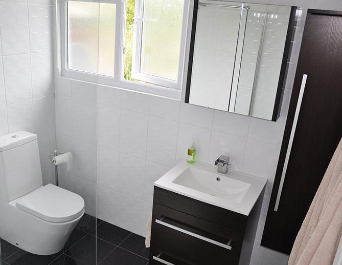 Bathroom in Extension