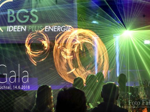 Gala mit Lasershow
