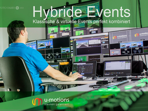 u-motions: Mittendrin in Hybride Events
