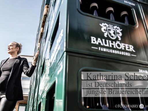 Katharina Scheer - die jüngste Brauereichefin-