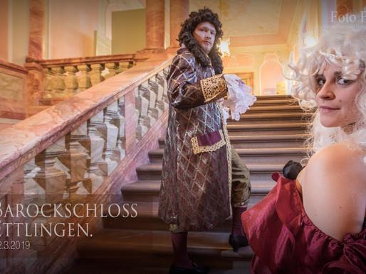 Im Barockschloss Ettlingen