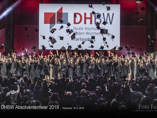 DHBW Absolventenfeier 2019