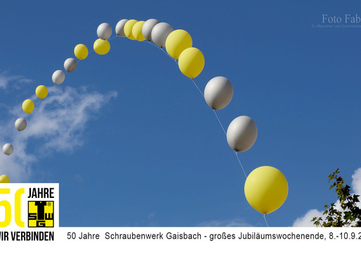 50 Jahre  Schraubenwerk Gaisbach