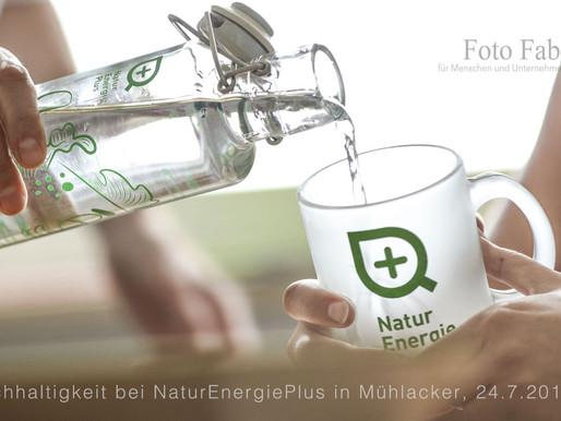Bei NaturEnergiePlus in Mühlacker