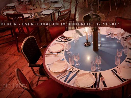Berlin - Eventlocation im Hinterhof