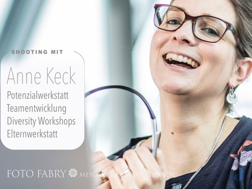 On Location-Shooting mit Anne Keck