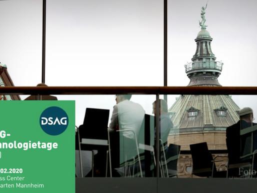 DSAG Technologietage2020                      mit 2.300 Teilnehmern ausgebucht