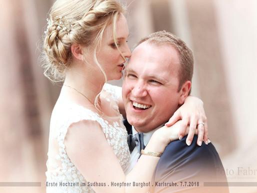 Erste Hochzeit im Sudhaus