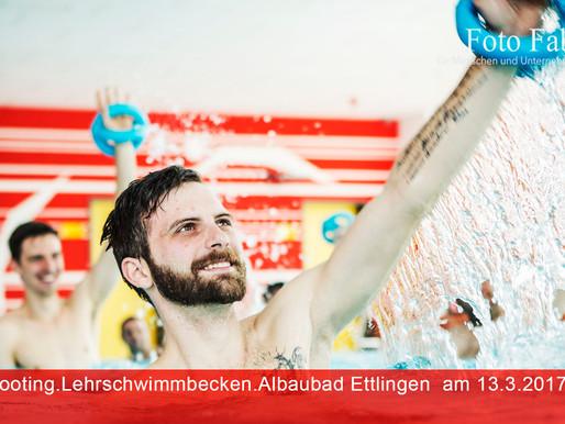 Shooting Schwimmbecken Albaubad Ettlingen 13.3.2017