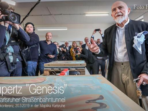 "Markus Lüpertz mit ""Genesis"""