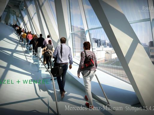 Mit Wenzel+Wenzel im Merzedes Benz Museum