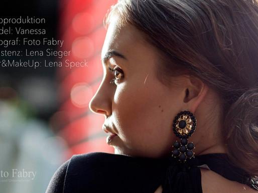 Fotoproduktion: Model Vanessa