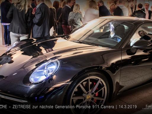 PORSCHE - ZEITREISE Präsentation der 8. Generation des Porsche 911