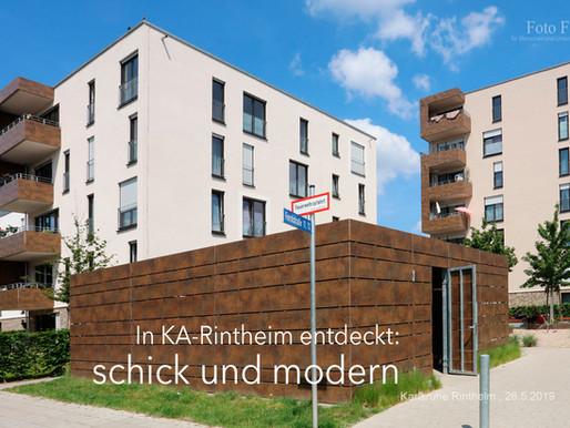 Neues Wohnensemble in KA Rintheim entdeckt