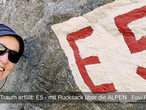 Einen Traum erfüllt: E5 - Alpenüberquerung