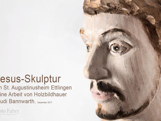 Moderne Jesus - Skulptur