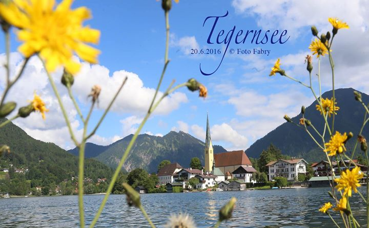 Heute gab´s viele Postkartenmotive_aus Rottach-Egern am Tegernsee
