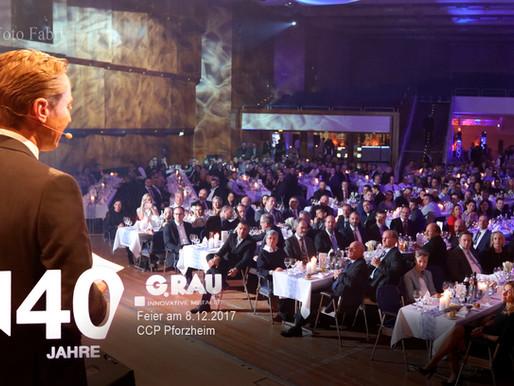 G.Rau feiert 140 Jahre.Foto Fabry gratuliert.