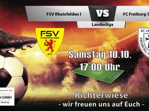 Spielankündigung 10.10. | Landesliga | Heimspiel