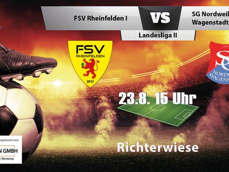 Spielankündigung 23.08.2020 | Landesliga | Heimspiel