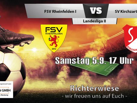 Spielankündigung 5.9. | Landesliga | Heimspiel