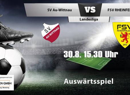 Spielankündigung 30.8.   Landesliga   Auswärts