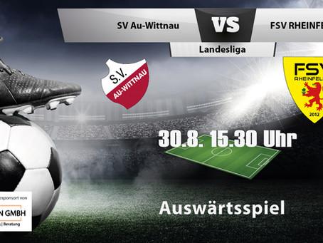 Spielankündigung 30.8. | Landesliga | Auswärts