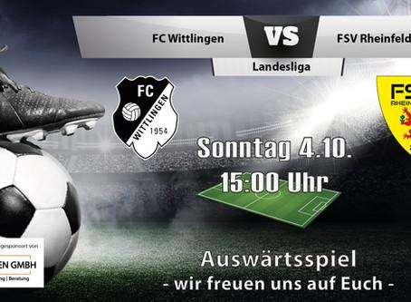 Spielankündigung 4.10.   Landesliga   Auswärts