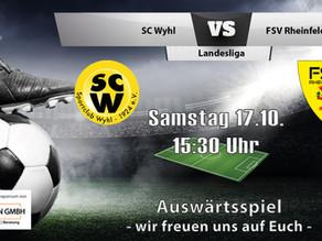 Spielankündigung 17.10. | Landesliga | Auswärts