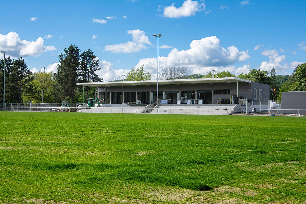 Baufortschritt - FSV Rheinfelden