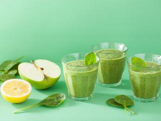 Grüner Smoothie - Der gesunde Vitamin-Kick für den April!