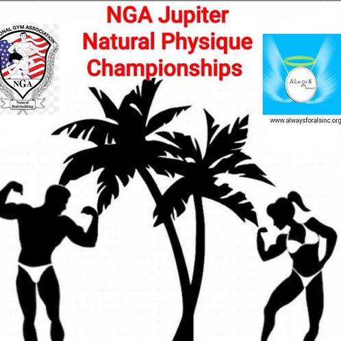 Jupiter Natural Physique Competition-Registration- 1st Division