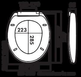 EA2008 983053 Lindoni Dimensions Silent