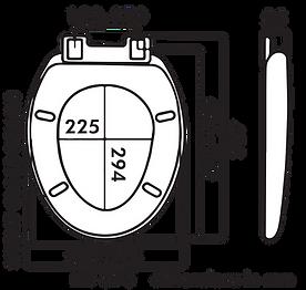 EA2008 983060 Lindoni Dimensions Silent