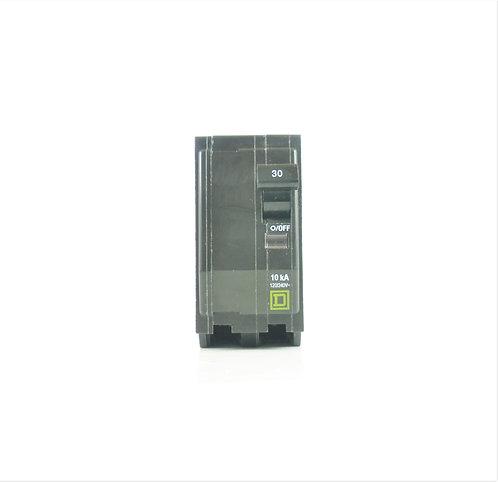Square D QO230 30A 2 Pole 120/240V Circuit Breaker