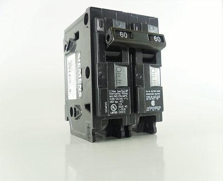 Siemens Q260 60-Amp 2 Pole 120/240V Circuit Breaker