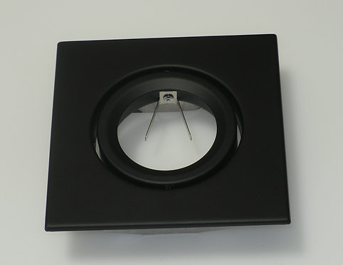 "4"" Black Square Trim - PAR20"