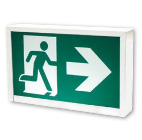 STANPRO Commercial Thermoplastic Running Man Sign ( RMPOWH-IB )
