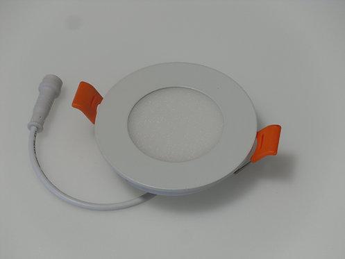 "LED Slim Panel - 3"" - 5000K - White (Round)"