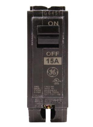 GE THQL1115 1 pole 15A
