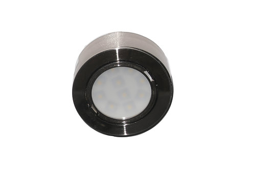 Under Cabinet LED Puck Lights - Satin - Pack of 3