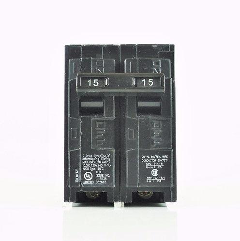 Siemens Q215 15-Amp 2 Pole 120/240V Circuit Breaker