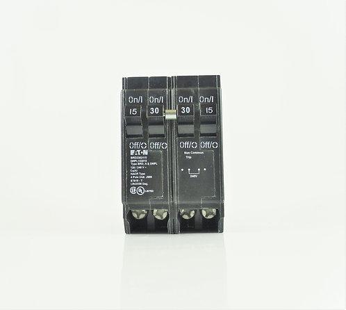 Cutler Hammer DNPL153015CTNC 15/30/15A 120/240V Quad Breaker