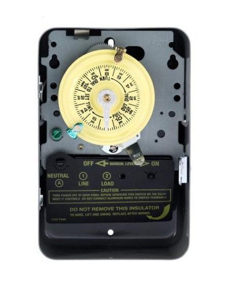Single Pole Mechanical Time Switch - 120V