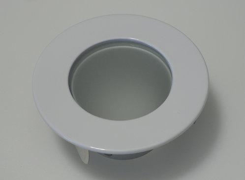 "3.5"" White Shower Trim - MR16"